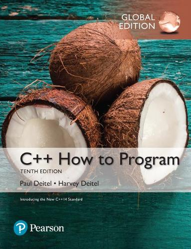 C++ How to Program (Early Objects Version) plus MyProgrammingLab with Pearson eText, Global Edition