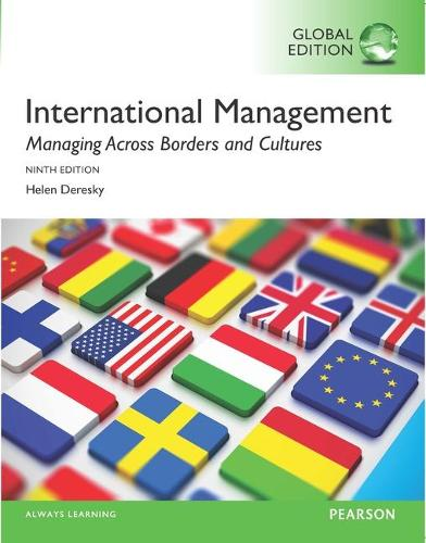 International Management: Managing Across Borders and Cultures, Text and Cases, Global Edition (Paperback)