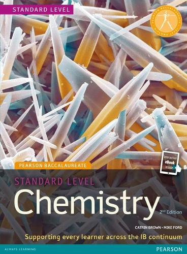 Pearson Baccalaureate Standard Level Chemistry Starter Pack - Pearson International Baccalaureate Diploma: International Editions