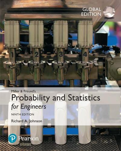 Miller & Freund's Probability and Statistics for Engineers, Global Edition (Paperback)