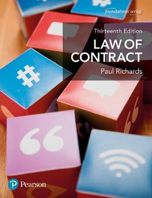 Law of Contract - Foundation Studies in Law Series (Paperback)