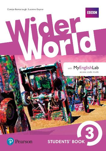 Wider World 3 Students' Book with MyEnglishLab Pack - Wider World