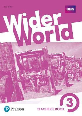 Wider World 3 Teacher's Book with DVD-ROM Pack - Wider World