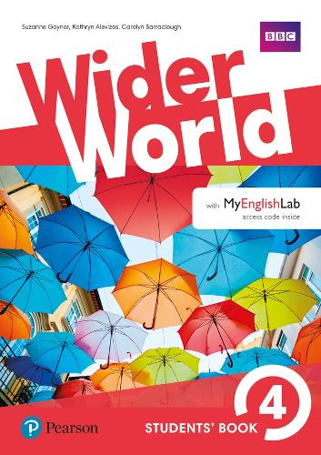 Wider World 4 Students' Book with MyEnglishLab Pack - Wider World