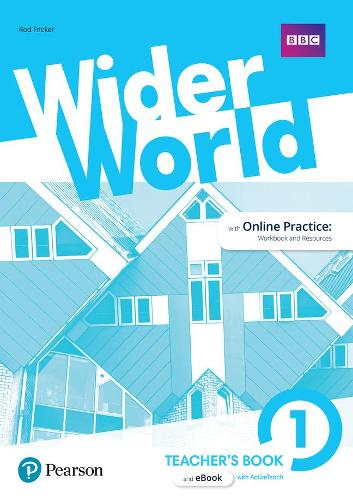 Wider World 1 Teacher's Book with MyEnglishLab & ExtraOnline Home Work + DVD-ROM Pack - Wider World