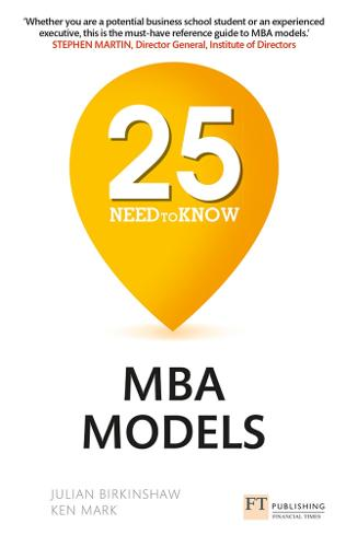 25 Need-to-Know MBA Models (Paperback)