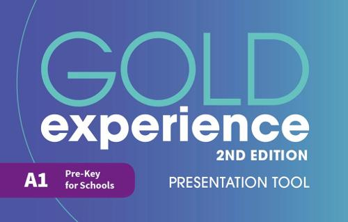 Gold Experience 2nd Edition A1 Teacher's Presentation Tool USB - Gold Experience (CD-ROM)
