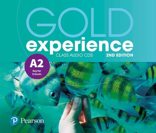 Gold Experience 2nd Edition A2 Class Audio CDs - Gold Experience (CD-Audio)