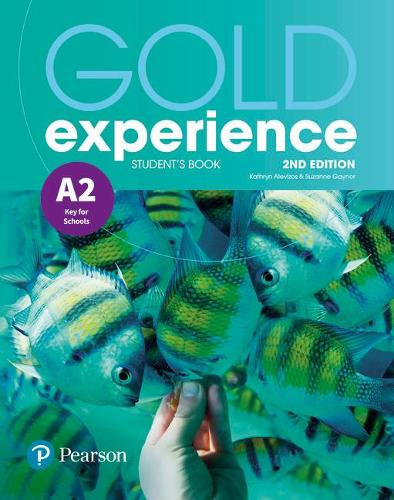 Gold Experience 2nd Edition A2 Students' Book - Gold Experience (Paperback)