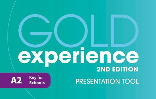 Gold Experience 2nd Edition A2 Teacher's Presentation Tool USB - Gold Experience (CD-ROM)