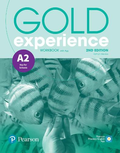 Gold Experience 2nd Edition A2 Workbook - Gold Experience (Paperback)