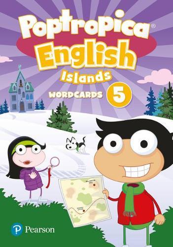 Poptropica English Islands Level 5 Wordcards - Poptropica