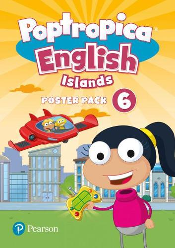 Poptropica English Islands Level 6 Posters - Poptropica (Poster)