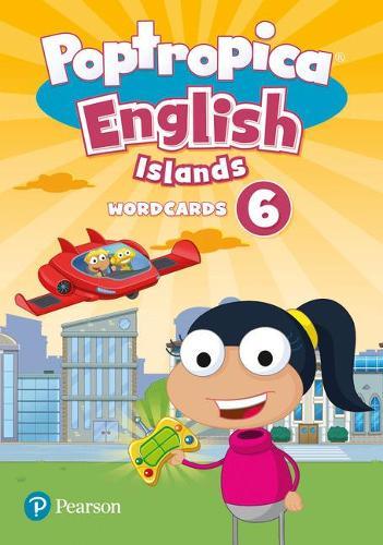 Poptropica English Islands Level 6 Wordcards - Poptropica