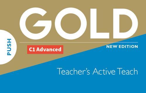 Gold C1 Advanced New Edition Teacher's ActiveTeach USB - Gold (CD-ROM)