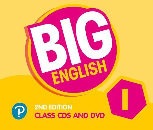 Big English AmE 2nd Edition 1 Class CD with DVD - Big English (CD-Audio)