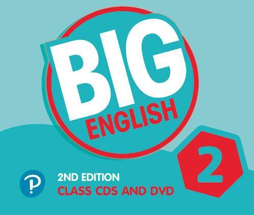 Big English AmE 2nd Edition 2 Class CD with DVD - Big English (CD-Audio)