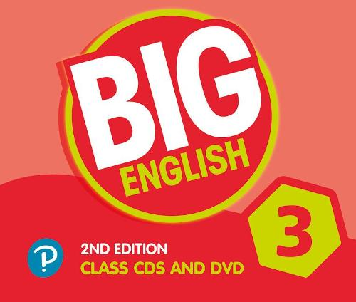 Big English AmE 2nd Edition 3 Class CD with DVD - Big English (CD-Audio)