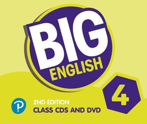 Big English AmE 2nd Edition 4 Class CD with DVD - Big English (CD-Audio)