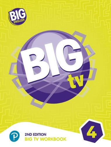 Big TV 4 Workbook - Big English (Paperback)