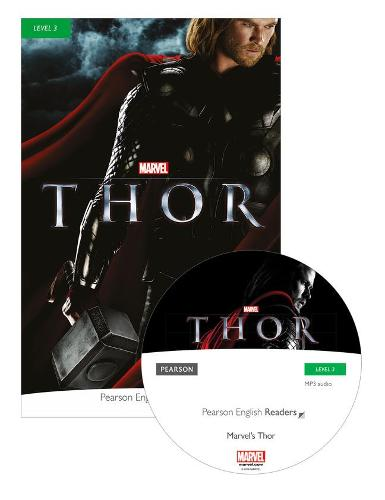 Level 3: Marvel's Thor Book & MP3 Pack - Pearson English Graded Readers