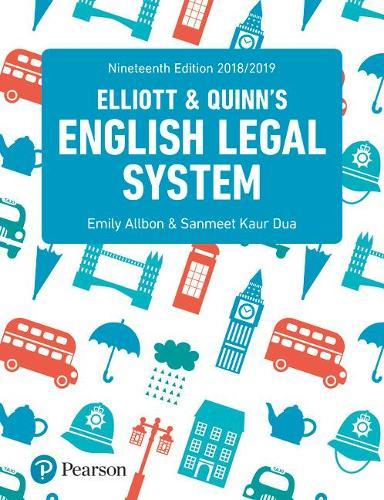 English Legal System (Paperback)