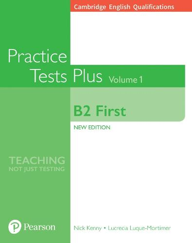 Cambridge English Qualifications: B2 First Volume 1 Practice Tests Plus (no key) - Practice Tests Plus (Paperback)