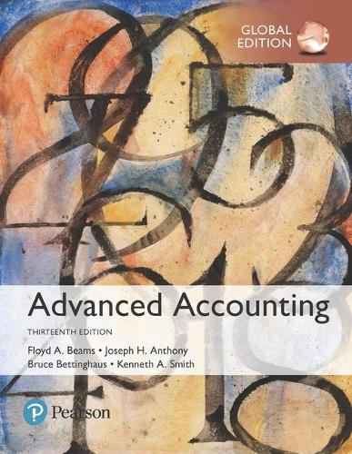 Advanced Accounting, Global Edition (Paperback)
