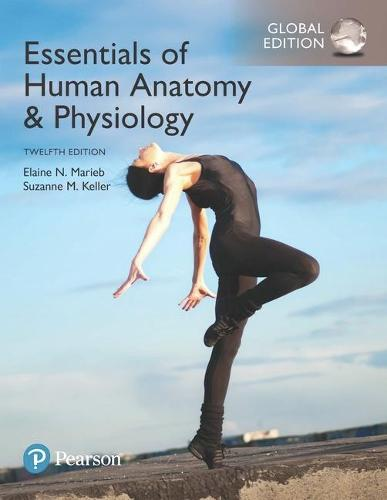 Cover Essentials of Human Anatomy & Physiology plus Pearson Mastering Anatomy & Physiology with Pearson eText, Global Edition