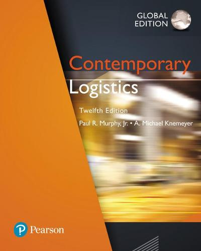 Contemporary Logistics, Global Edition (Paperback)