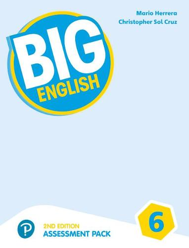Big English AmE 2nd Edition 6 Assessment Book & Audio CD Pack - Big English