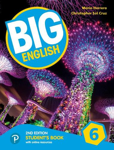 Big English AmE 2nd Edition 6 Student Book with Online World Access Pack - Big English
