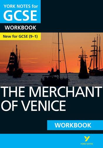 The Merchant of Venice: York Notes for GCSE (9-1) Workbook - York Notes (Paperback)
