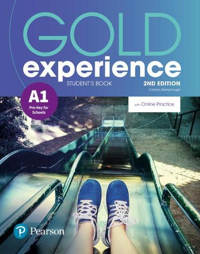 Gold Experience 2nd Edition A1 Student's Book with Online Practice Pack - Gold Experience