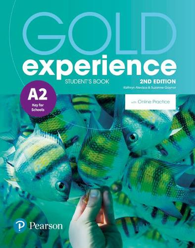 Gold Experience 2nd Edition A2 Student's Book with Online Practice Pack - Gold Experience