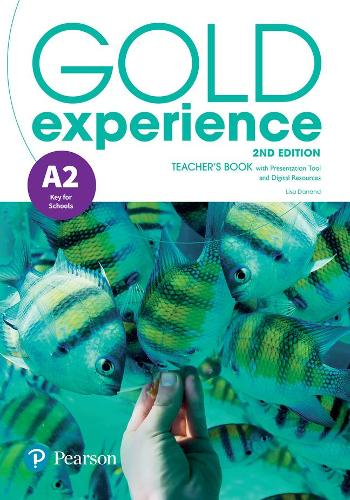 Gold Experience 2nd Edition A2 Teacher's Book with Online Practice & Online Resources Pack - Gold Experience