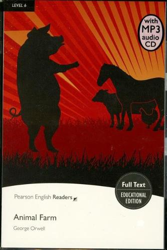 Level 6: Animal Farm Book & MP3 Pack - Pearson English Graded Readers