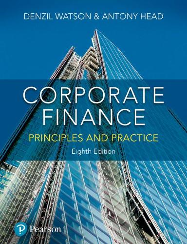 Corporate Finance: Principles and Practice (Paperback)