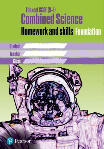 Edexcel GCSE 9-1 Combined Science Homework Book Foundation Tier - Homework for Science Workbook Series (Paperback)