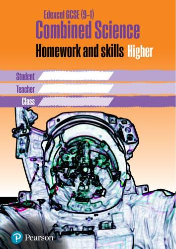 Edexcel GCSE 9-1 Combined Science Homework Book Higher Tier - Homework for Science Workbook Series (Paperback)