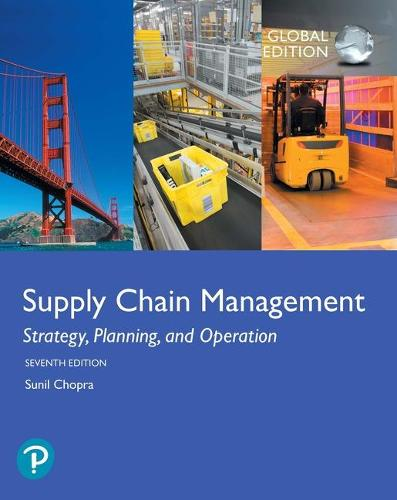 Supply Chain Management: Strategy, Planning, and Operation, Global Edition (Paperback)