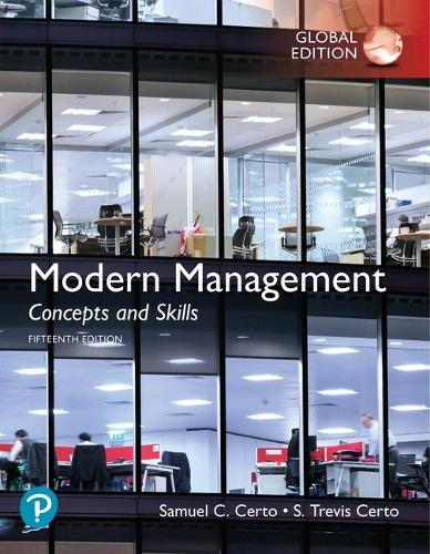 Modern Management: Concepts and Skills plus Pearson MyLab Management with Pearson eText , Global Edition