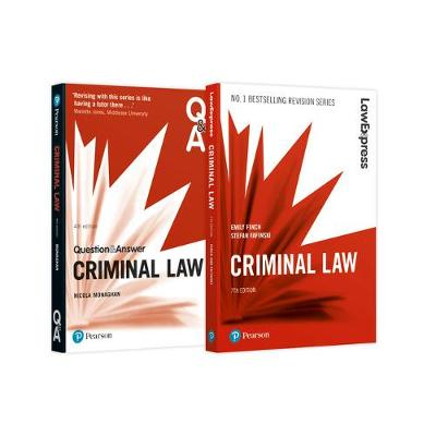 Criminal Law Revision Pack 2018: Criminal Law Revision Guide and Q&A (Paperback)