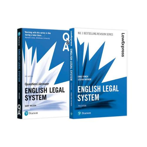 English Legal System Revision Pack 2018: English Legal System Revision Guide and Q&A (Paperback)