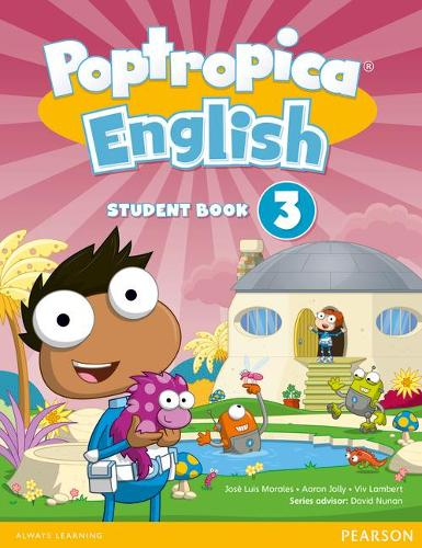 Poptropica English American Edition 3 Student Book and PEP Access Card Pack - Poptropica