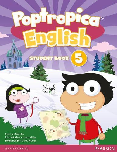 Poptropica English American Edition 5 Student Book and PEP Access Card Pack - Poptropica