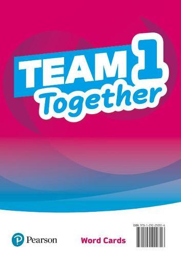 Team Together 1 Word Cards - Team Together