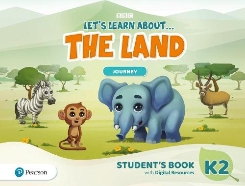 Let's Learn About the Land K2 Journey Student's Book and PIN Code pack - Let's Learn About The Earth
