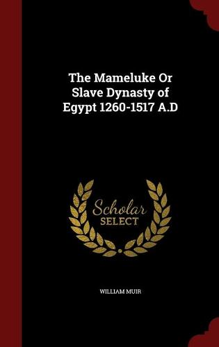 The Mameluke or Slave Dynasty of Egypt 1260-1517 A.D (Hardback)
