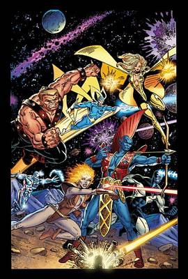 Guardians Of The Galaxy Classic By Jim Valentino Omnibus (Hardback)